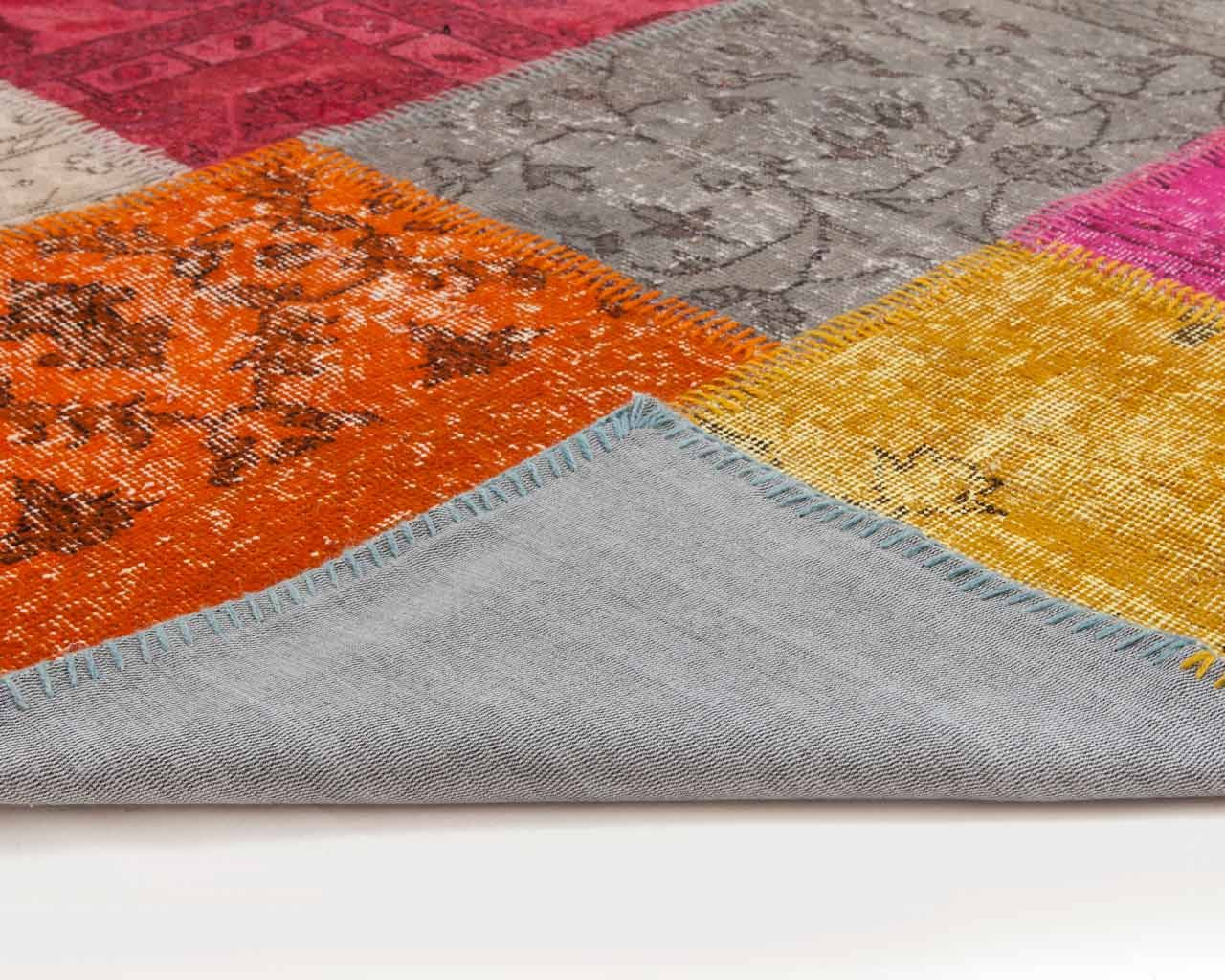 colours many carpet patchwork