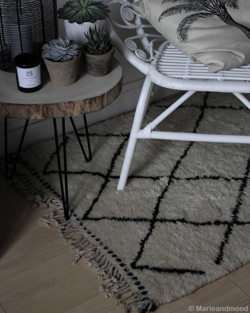 hand knotted round wooden table with small pots asian fresh childrens rugs