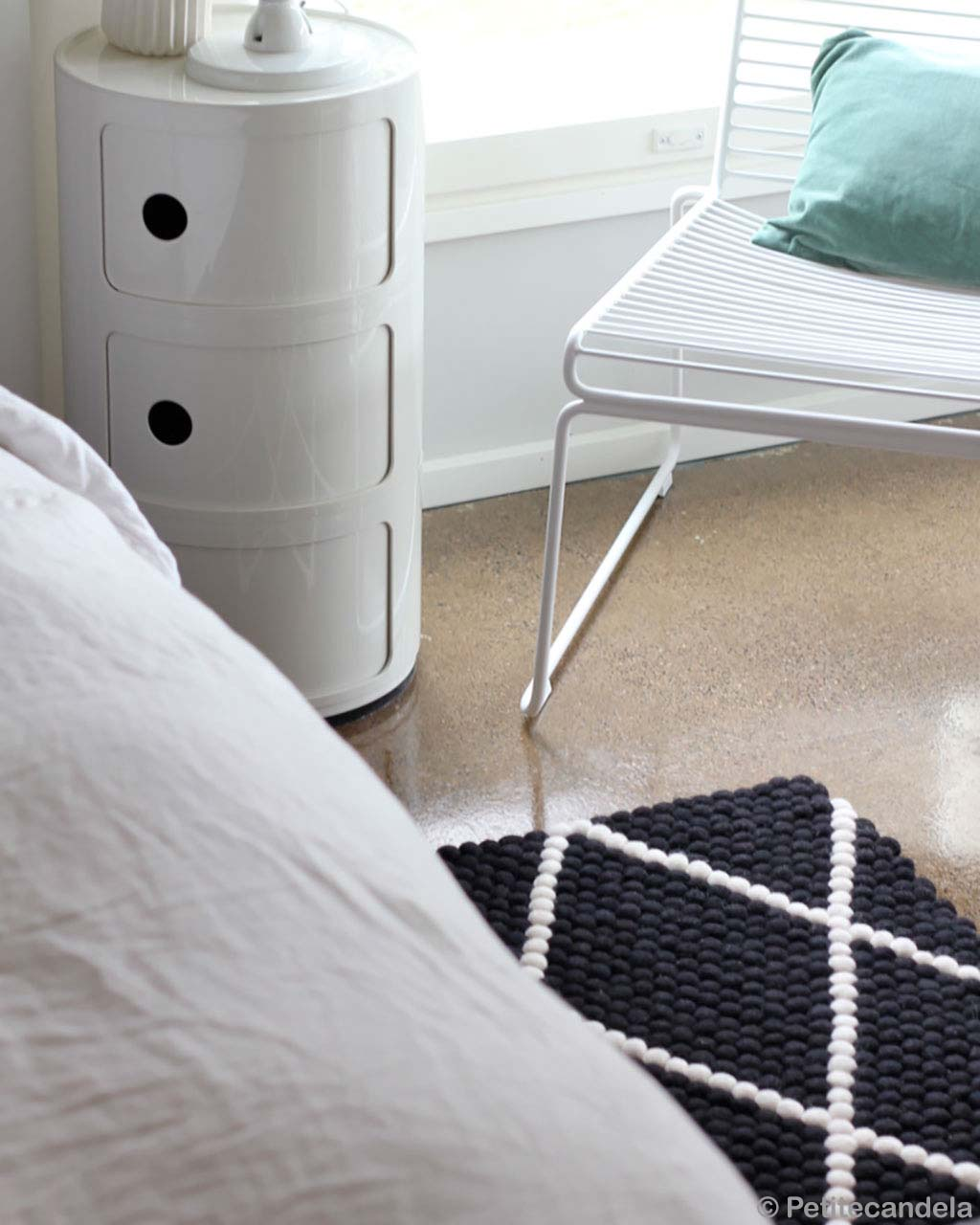 made with hand beautiful white bedside table nepalian made kitchen rugs