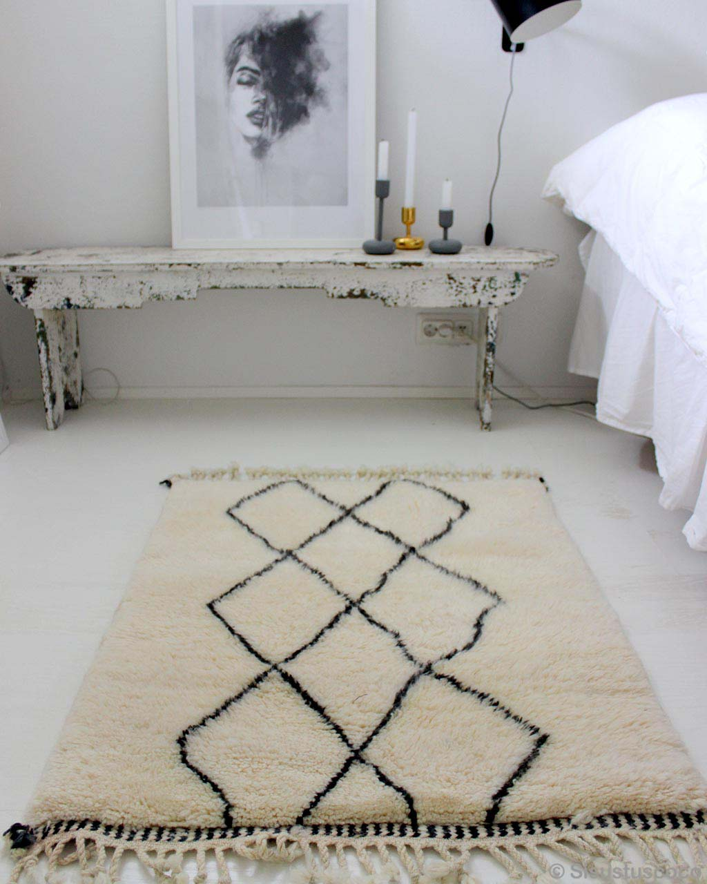 painting and wall side table bedroom rugs