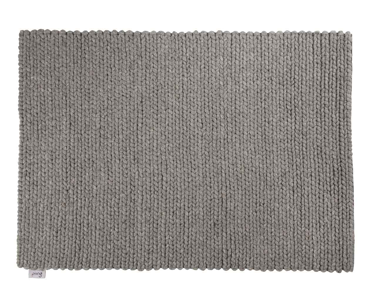 large size carpet grey wool 1