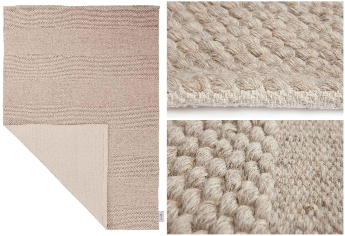 durable-texture-of-beige-flat-weave-runner-rug